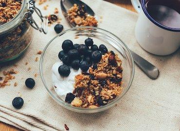 Café da manhâ saudável
